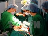 Bệnh viện tuyến quận, huyện đầu tiên phẫu thuật tim hở thành công