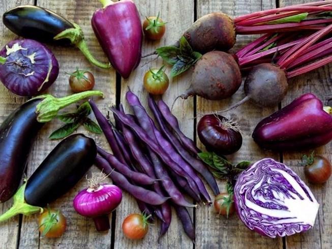 Thực phẩm màu tím và những lợi ích không ngờ