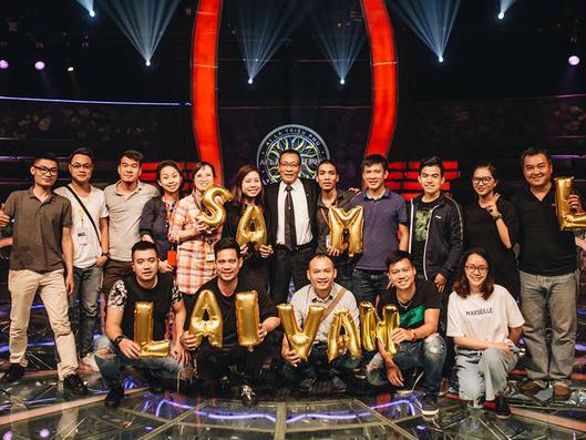 Ai là triệu phú số cuối năm 2017 bị cắt gọt phần chia tay MC Lại Văn Sâm