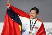 Ánh Viên giành danh hiệu VĐV tiêu biểu toàn quốc 2017