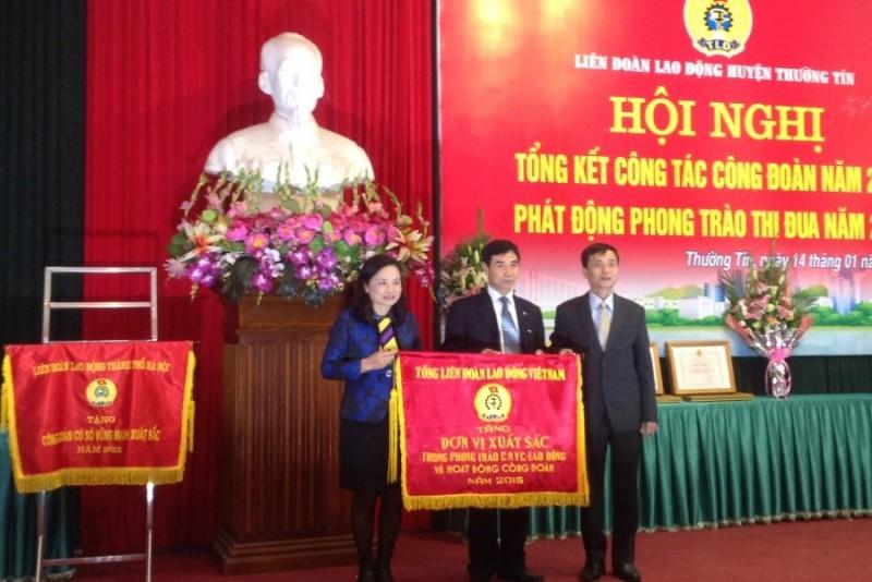LĐLĐ huyện Thường Tín: Thực hiện hiệu quả các phong trào thi đua