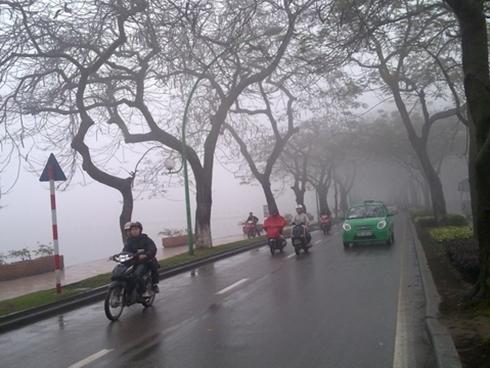Không khí lạnh tăng cường, Bắc Bộ mưa rét 2 ngày cuối tuần