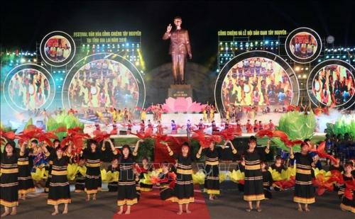 Bế mạc Festival văn hóa Cồng chiêng Tây Nguyên 2018
