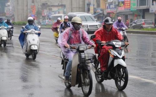 Cuối tuần miền Bắc đón không khí lạnh, trời chuyển mưa và rét