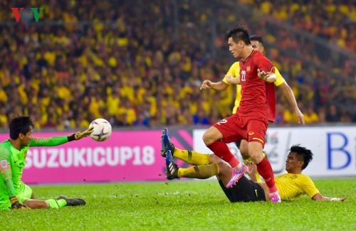 Đội tuyển Việt Nam đã có một trận đấu hay trước Malaysia