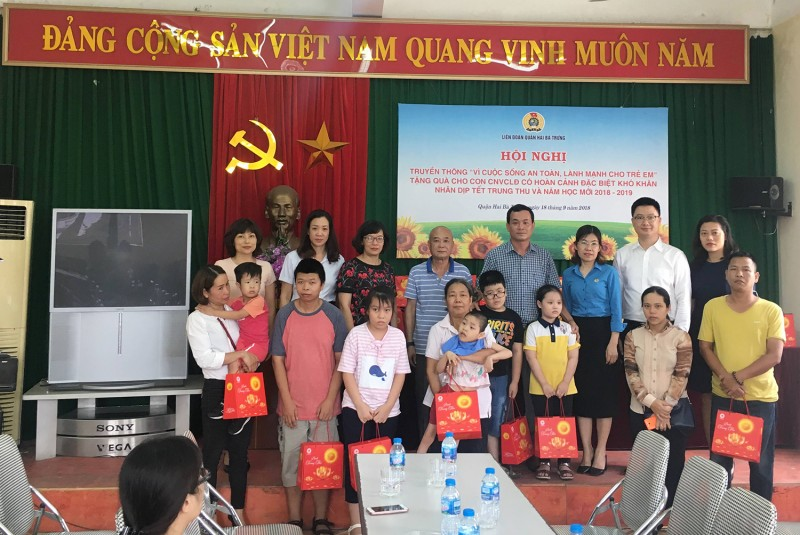 LĐLĐ quận Hai Bà Trưng: Làm tốt công tác bảo vệ quyền và lợi ích người lao động