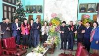 Chúc mừng Giáng sinh đến các vị chức sắc và giáo dân