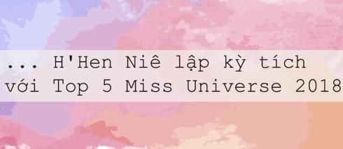 hhen nie va hanh trinh lam nen ky tich tai miss universe 2018