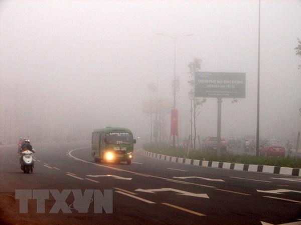 Bắc Bộ, Bắc Trung Bộ trời se lạnh sương mù sáng, Hà Nội mưa lắc rắc