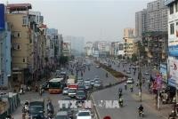 Từ 25/12, Hà Nội phân luồng giao thông thi công đường vành đai 2 trên cao