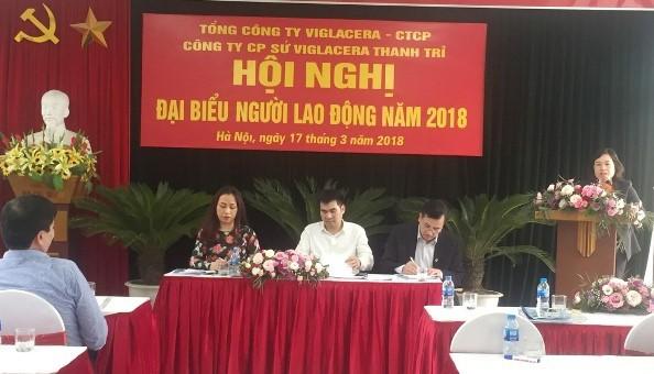 LĐLĐ quận Hoàng Mai: 71,8% đơn vị tổ chức hội nghị người lao động