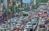 Năm 2019, Hà Nội phấn đấu giảm trên 8 điểm ùn tắc giao thông