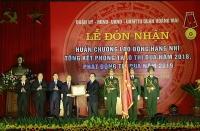 Quận Hoàng Mai đón nhận Huân chương Lao động hạng Nhì
