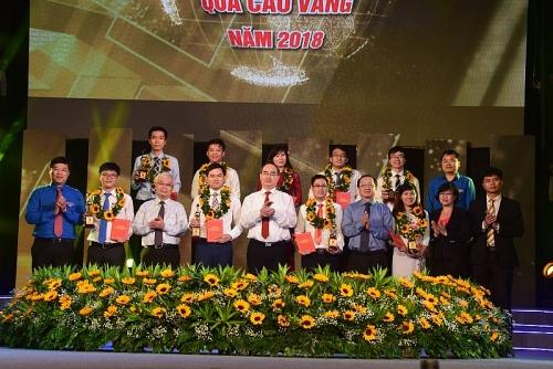 Tân Hiệp Phát lần thứ 8 đồng hành cùng giải thưởng Quả Cầu Vàng