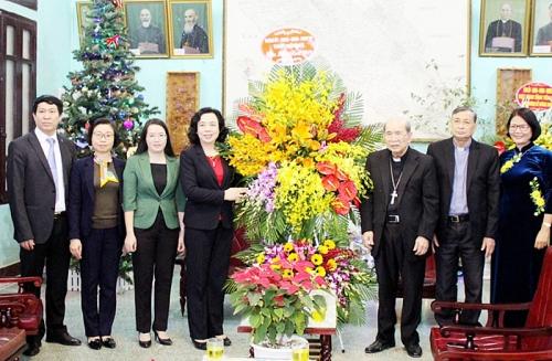 Đồng bào Công giáo chung tay xây dựng Thủ đô đẹp giàu