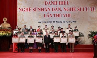 479 nghệ sĩ được tặng danh hiệu NSND, NSƯT