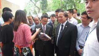 Giới trẻ háo hức với ngày hội sách lớn nhất Thủ đô