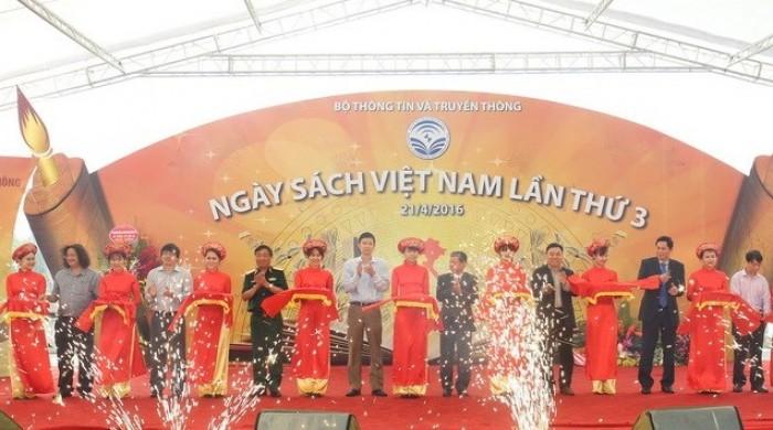 Khai mạc Ngày Sách Việt Nam lần thứ 3 năm 2016