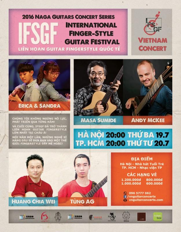 Liên hoan guitar quốc tế 2016 tại Việt Nam