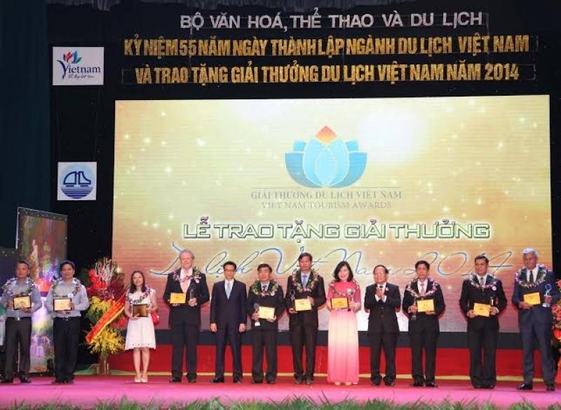Vinh danh các doanh nghiệp Du lịch hàng đầu Việt Nam năm 2016