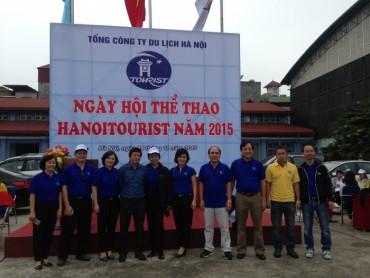 Gần 500 VĐV tham gia ngày hội thể thao Hanoitouris 2015