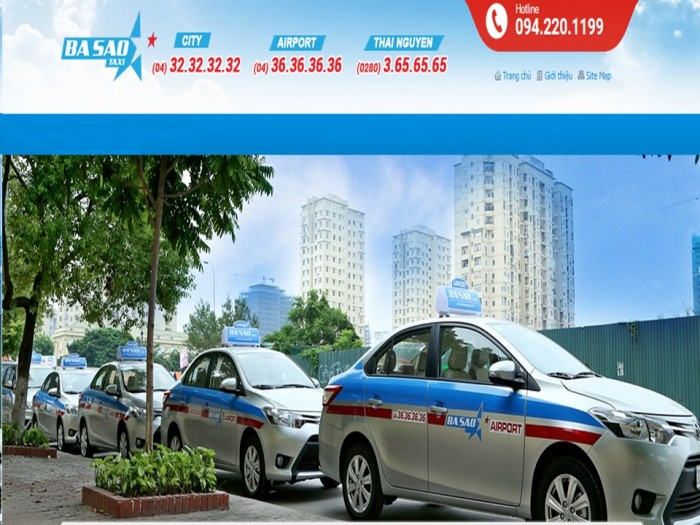 Sử dụng taxi Ba Sao tiện ích khi thanh toán thẻ Moca