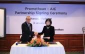 AIC ký hợp tác chiến lược với Promethean trong lĩnh vực Giáo dục