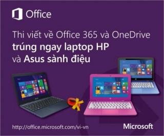 Tìm hiểu Microsoft Office 365, trúng HP Stream và Asus