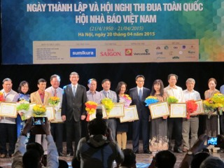 Kỷ niệm 65 năm ngày thành lập Hội Nhà báo Việt Nam