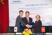 Samsung ký biên bản ghi nhớ với Tổng cục Dạy nghề