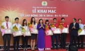 Khai mạc Triển lãm Trí tuệ Lao động Việt Nam và phiên chợ Tết lao động