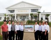 Bộ trưởng Nguyễn Bắc Son thăm đại dự án của Tập đoàn FLC