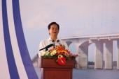 Thủ tướng Nguyễn Tấn Dũng phát lệnh thông xe cầu Cổ Chiên