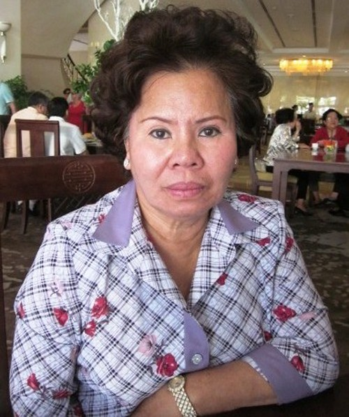 Nữ doanh nhân Lê Thị Lượng, sinh năm 1949 là người Lào gốc Việt.