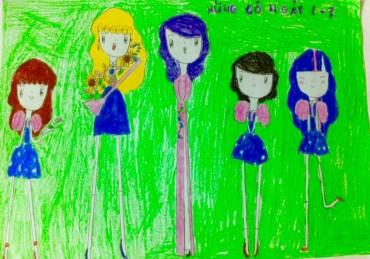 Triển lãm đặc biệt: 'Trẻ em vẽ'