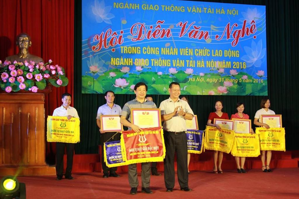 Công ty CTGT Hà Nội giành giải đặc biệt