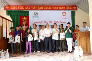Công ty TNG Holdings Việt Nam hướng về miền Trung