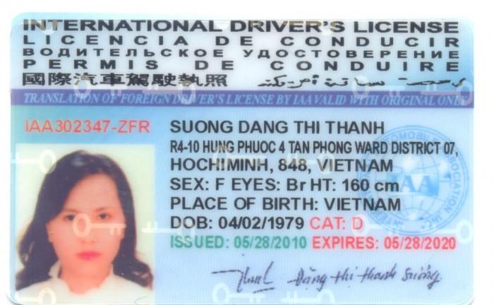 Việt Nam cấp bằng lái xe quốc tế sử dụng tại 85 nước