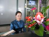 Nữ Giám sát viên giỏi của sân bay QT Nội Bài