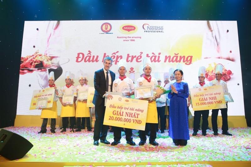 Nestle phối hợp tổ chức cuộc thi đầu bếp trẻ tài năng 2016