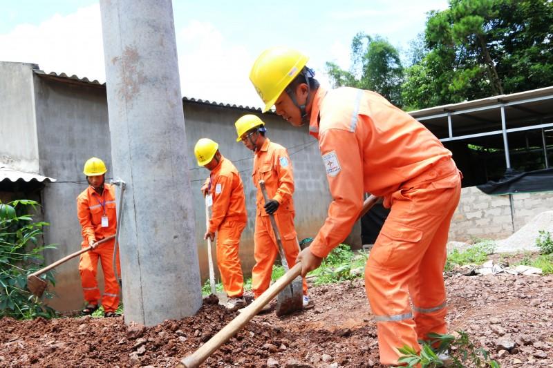 EVNNPC chủ động phòng chống thiên tai mùa mưa bão