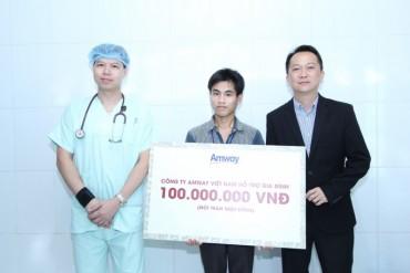 Thêm 100 triệu đồng hỗ trợ viện phí cho gia đình em bé song sinh