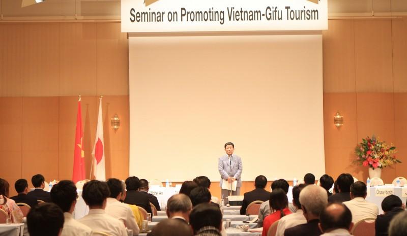 Toạ đàm kết nối và thúc đẩy du lịch Việt Nam - Gifu (Nhật Bản)