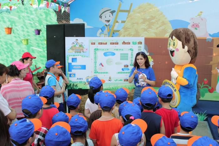 Sân chơi Vườn thú diệu kỳ và Nông trại kỳ thú dành cho trẻ em từ 2 đến 6 tuổi