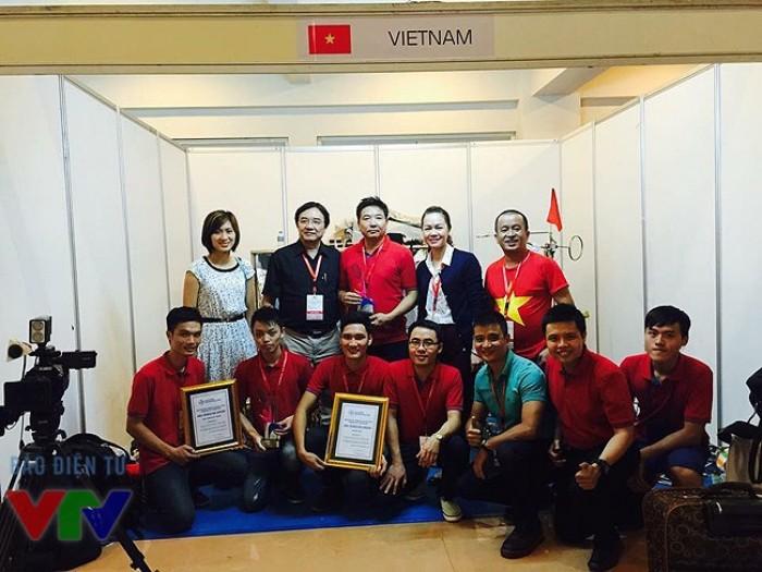 Robocon Việt Nam mang về chiếc cúp vô địch lần thứ 5