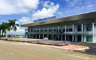 Cảng hàng không Pleiku hoạt động trở lại