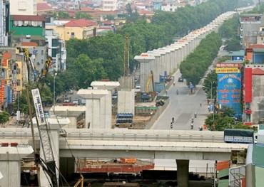 Đường sắt Cát Linh - Hà Đông: Giữa năm 2017 sẽ đưa vào khai thác