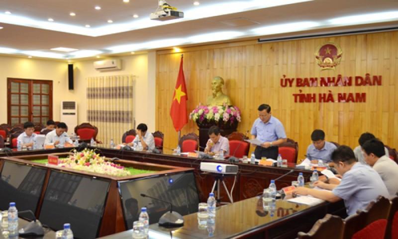 Hà Nam tổ chức Hội nghị Xúc tiến đầu tư 2016