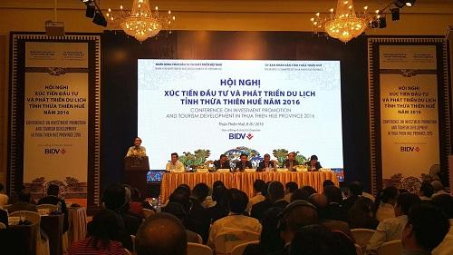 Thừa Thiên - Huế: Tổ chức Hội nghị Xúc tiến đầu tư và Phát triển du lịch