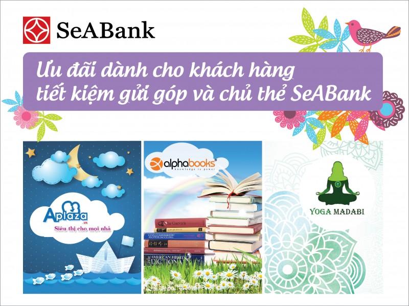 Nhiều ưu đãi hấp dẫn khi giao dịch với Ngân hàng SeAbank